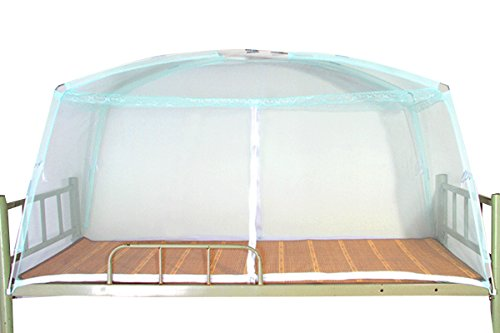 Olivia Folding Mosquito Net for Students Dormitory Beds Bunk Bed Home Bedroom Decor Mosquito Net Bed Canopy Curtain 190 90 100 cm Light ()