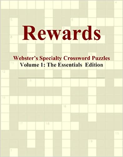 Book Rewards - Webster's Specialty Crossword Puzzles, Volume 1: The Essentials Edition