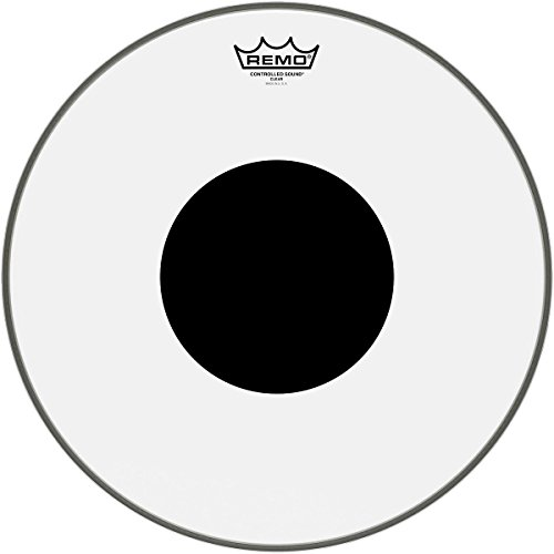 remo-controlled-sound-clear-drum-head-with-black-dot-16-inch