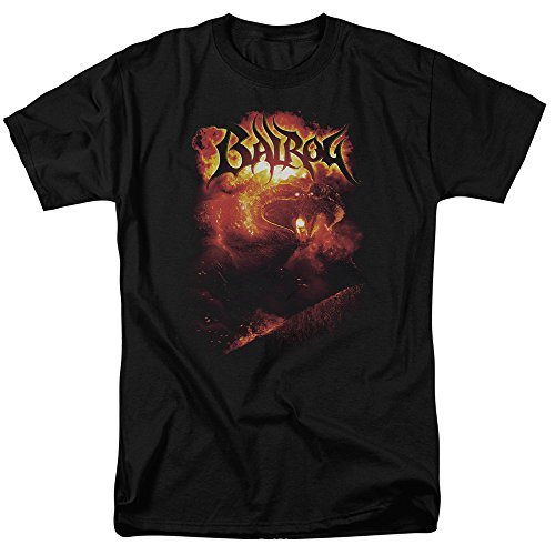 Trevco Men's Lord of The Rings Short Sleeve T-Shirt, Balrog Black, Medium from Trevco