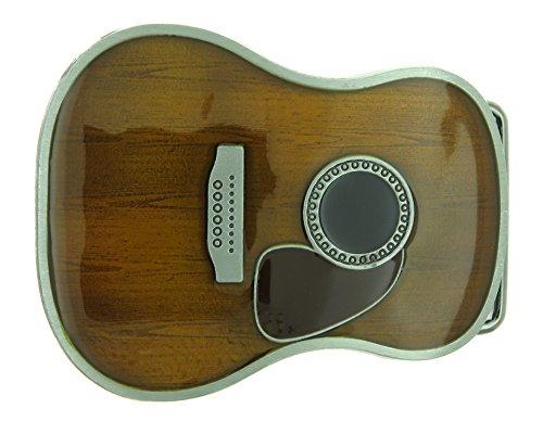 Acoustic Guitar Body Belt Buckle - Guitar Belt Buckle