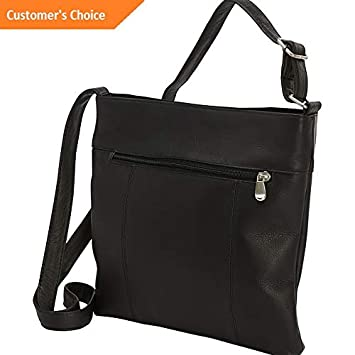 Amazon.com: Sandover Le Donne Leather Derosa Crossbody 3 Colors Cross-Body Bag NEW | Model LGGG - 4530 |: Sandover