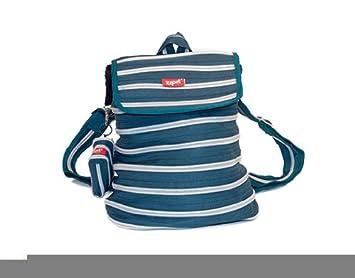 Zipit Combo sac à dos, Ton vert bleu et fermeture Éclair Gris ...