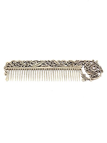 Silver Hair comb ''Delicate'' by Sribnyk - Gallery of Silver Art