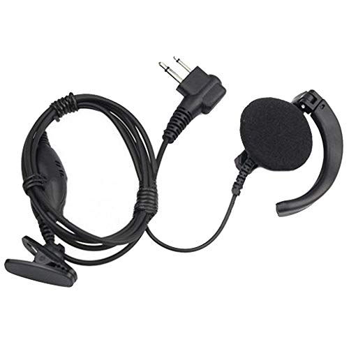 Fornateu Radio Earpiece Voice-activated Flexible Earbud Headset Replacement for Mag One A8 A6 A10 A12 GP88 GP68