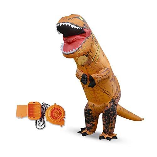 Folconauto Costume Inflatable Dinosaur Costume Halloween Events Dedicated Dinosaur Inflatable Suit(Child)