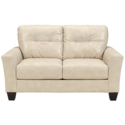 Flash Furniture Benchcraft Paulie Loveseat in DuraBlend, Taupe