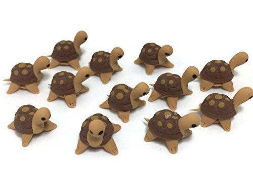 Lot of 12 Miniature Turtle Fairy Garden Supplies Animal Figurine Furniture Dollhouse GD#003