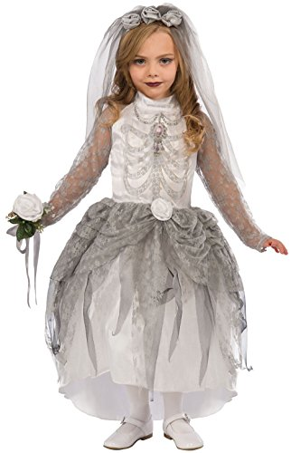 Forum Novelties Skeleton Bride Costume, (Day Of The Dead Costumes Plus Size Uk)