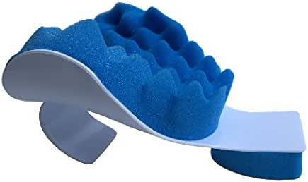 Chiropractic Pillow - Cervical Neck Pillow to Help Ease Neck Pain and Shoulder Pain and Provide Relief by Easing Tension - Therapeutic and Helps Spine Alignment by EcoGreen
