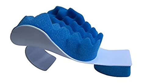 CHIROPRACTIC PILLOW - Cervical Neck Pillow to help ease Neck Pain and Shoulder Pain and Provide relief by Easing Tension - Therapeutic and Helps Spine Alignment By EcoGreen sleep pillows Sleep Pillows Reviews and Buying Guide-Good Sleep with Good Pillows 41eqfiUtTzL
