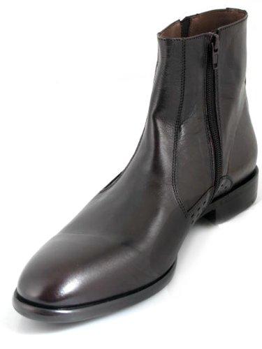 Vestido Italiano Para Hombre Ducanero Fashion / Casual 1194 Botín Black T. Moro