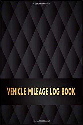 vehicle mileage log book perfect for record and expense tracker