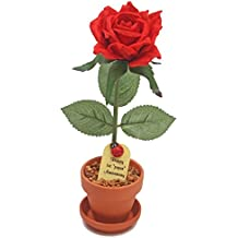 1st First Wedding Anniversary Gift Potted Paper Rose (we have years 1 to 20, 25, 50)