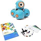 Wonder Workshop Dash Robot with Dash Challenge Cards Bundle & Launcher