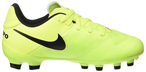 Pictures of NIKE Youth Tiempo Legend VI FG Cleats [Volt] (5Y) 5 M US Big Kid 3