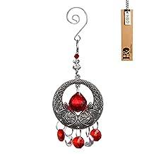 H&D Fengshui Rainbow Maker Window Hanging Ornaments Pendant Crystal Suncatcher Chandelier Ball Prism