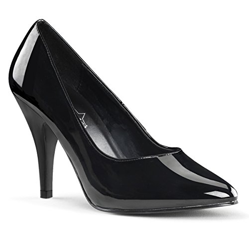 Heels-Perfect - Pantuflas de caña alta de material sintético mujer negro - Schwarz (Lack Schwarz)