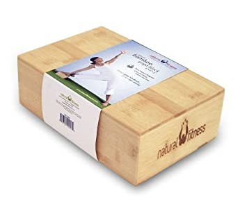 Amazon.com: Bambú bloque de yoga 3