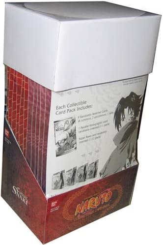 Coils of the Snake Sealed booster box Naruto