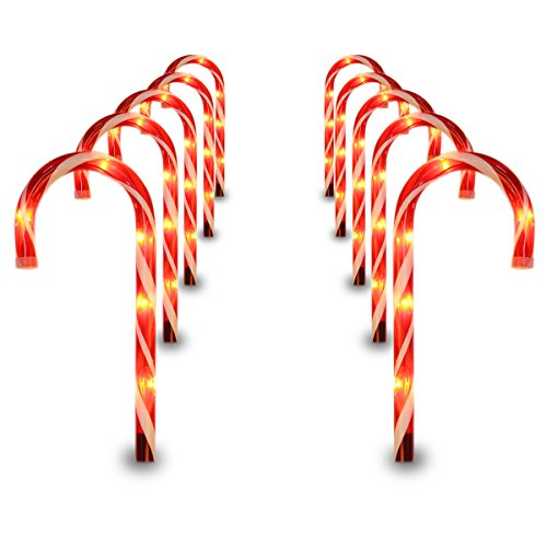 Candy Cane Lights Pathway - 4