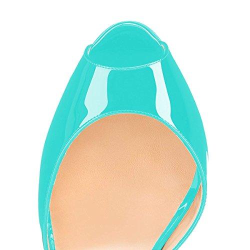 Naisille Toe Korkokengät D'orsay Nastoitettu Dress Pumput Peep Nilkkalenkki Kengät Xyd q1zw6R
