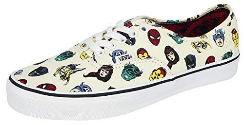 Shoe Character Skate - Vans x Marvel Authentic Sneakers (Avengers/Multi) Unisex Comic Skate Shoes