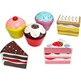 Wooden Cakes 6 Pack