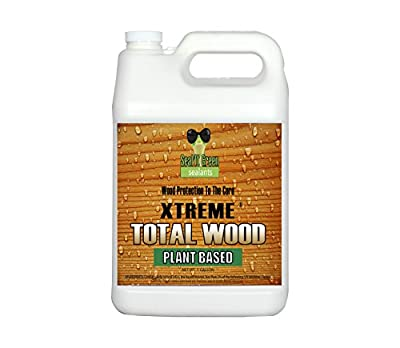 Seal It Green Extreme Total Wood Is A Plant Based, Non-Toxic Wood Sealer That Protects All Wood Types From Rot, Cupping, Cracking And Damage From Insects And The Sun. Protection Lasts 15+ Years.