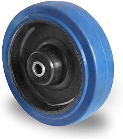 1/Set Blue Wheels ruote 200/mm 400/kg//ruolo Nuovo sterzo//FS