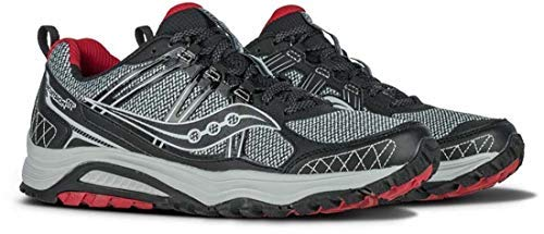 Saucony Men's Grid Excursion TR10 Running Shoe, Grey/Black/Red, 8 M US by Saucony (Image #10)