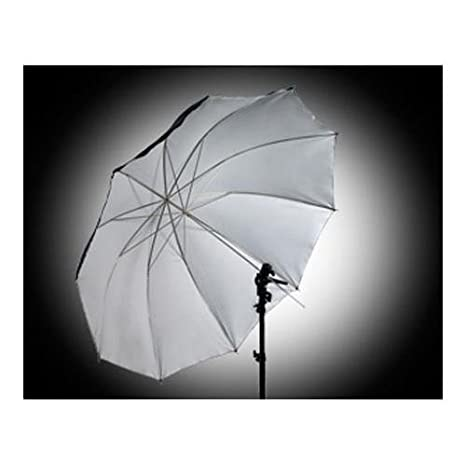 Interfit photographic int289 60 inch satin umbrella with removable black cover for lighting white
