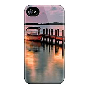 New Fashion Premium Tpu Case Cover For Iphone 4/4s - Afternoon Sea by supermalls
