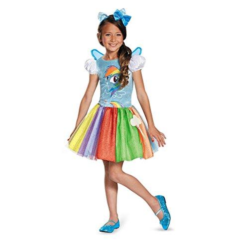 Toddler & Little Girls My Little Pony Deluxe Rainbow Dash Costume (XS (Rainbow Dash Costume Toddler)