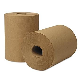 "Wausau Paper 46000 EcoSoft Universal Roll Towels, 8"" Width"