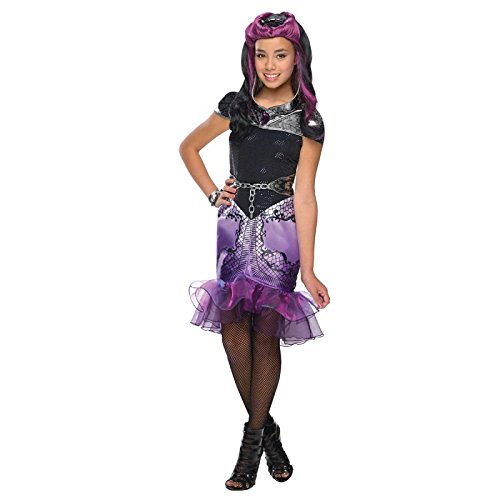 [Rubies Ever After High Child Raven Queen Costume, Child Large] (Old Hollywood Theme Party Costumes)