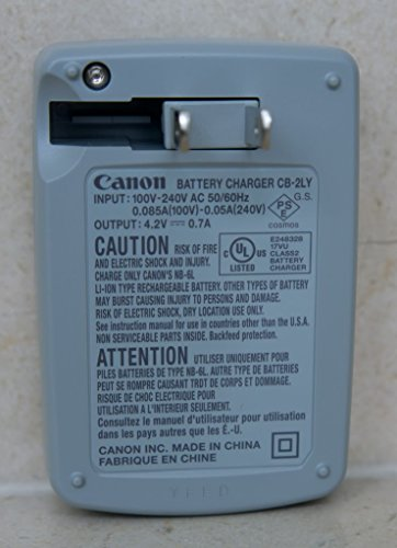 Canon-CB-2LY-Charger-for-NB-6L-NB-6LH-Li-ion-Battery-Canon-PowerShot-D10-D20-S90-S95-S120-SD770-IS-SD980-IS-SD1200-IS-SD1300-IS-SD3500-IS-SD4000-IS-and-many-more-See-description