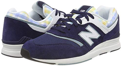 Mujer smoke Blue Zapatillas Azul Balance Para New De Trb Running 697 pigment xvYqnzw7