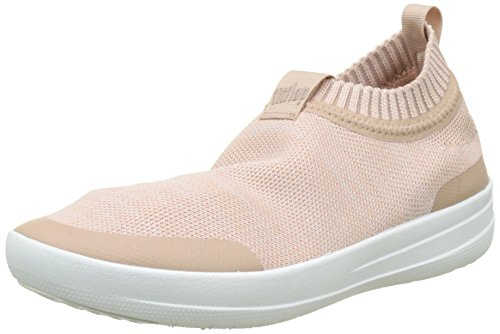 Donna Blush Sneakers Slip Neon On Multicolour Sneaker Uberknit White a Fitflop Urban Alto Collo 4PZnf8x