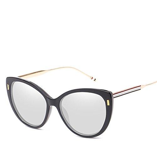 Gafas Parasol Ojo De Mujer Gafas No4 Metal De Espejo Sol NO4 Sol RinV Moda para Tendencias Europeas De Gato Gafas OR0n7wgTq