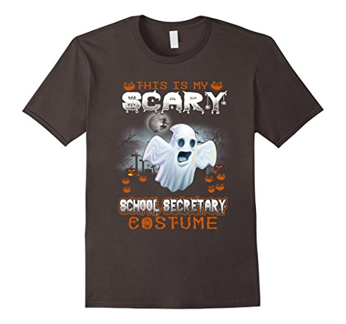 This Is My Scary School Secretary Costume T Shirt Halloween