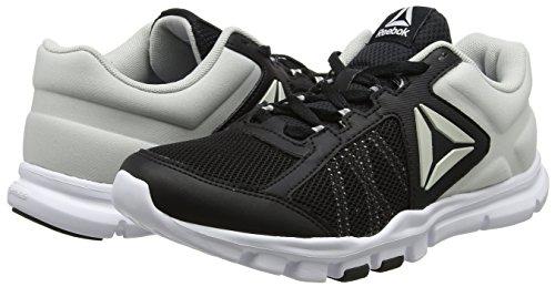 Femme Noir Skull noir De 9 white Chaussures Running Trainette Grey Mt black Yourflex Reebok 0 Szw8BB