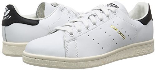 adidas Stan Smith, Zapatillas de Deporte Para Hombre Blanco (Footwear White/footwear White/core Black)