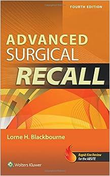 Book Advanced Surgical Recall (Recall Series)
