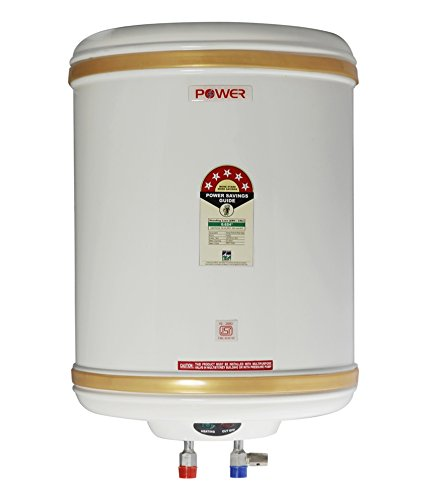 POWER PYE ELECTRONICS 5 Star ISI Mark 25 L Stainless Steel Water Heater Geyser (Ivory)