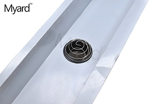 Myard 2 Quot Stainless Steel Spring Gutter Strainer For 5 Inch