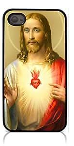 HeartCase Hard Case for Iphone 4 4G 4S (Jesus Christ Cross )