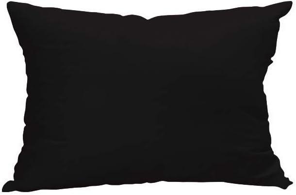 Funda de Almohada 50x75 cm Atmo Uni Negra: Amazon.es: Hogar
