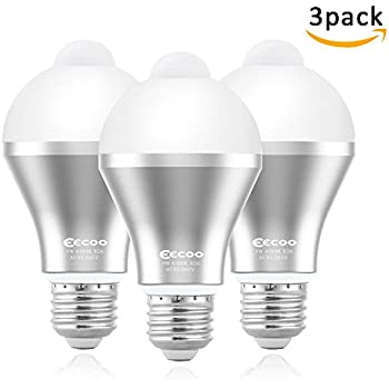 Motion sensor light bulb 9w e26e27 smart pir led bulb warm white motion sensor light bulbeecoo 9w smart pir led bulbs auto onoff security mozeypictures Gallery