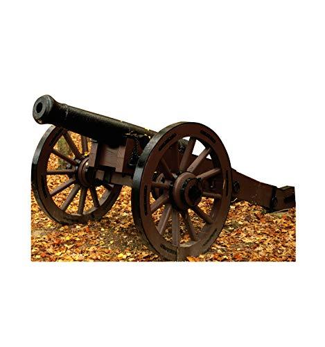 Advanced Graphics Civil War Cannon Life Size Cardboard Cutout Standup